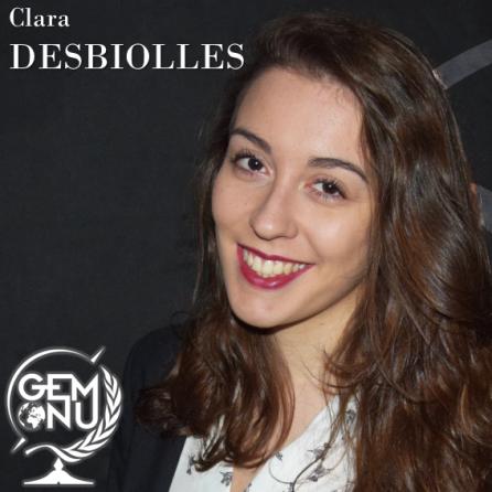 Clara DESBIOLLES