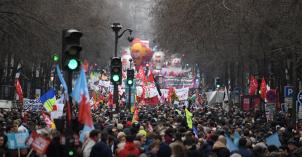 Manifestation contre la réforme des retraites - Paris - 9 janvier 2020