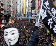 Manifestation à Hong-Kong - 8 décembre 2019